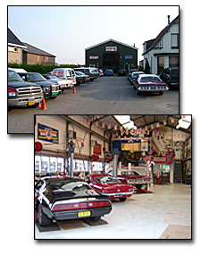 Garage neet zevenhuizen us cars en stock car racing for Garage neet